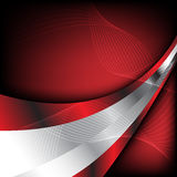 tło abstrakcjonistyczna czerwień Obrazy Royalty Free
