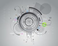 tło abstrakcjonistyczne szarość Fotografia Stock
