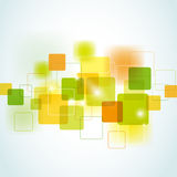 tło abstrakcjonistyczny kwadrat Obrazy Stock