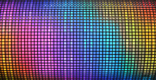 tło abstrakcyjna disco Fotografia Stock