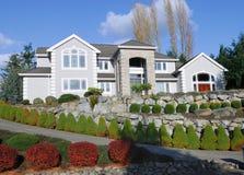 to amerykański dom serii zdjęcie stock