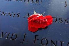 14to aniversario de 9/11 86 Imagen de archivo