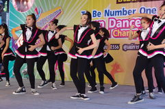 To Be No. 1 Dance Championship Royalty Free Stock Images