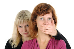 To be silent! Stock Photos