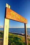 To The Beach Stock Photos