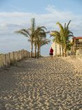 To the Beach Stock Photo