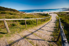 To the Beach, NSW, Australia Stock Image