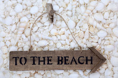To The Beach Stock Images