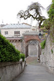 To the Castle of Udine, Italy Stock Image