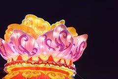 Local texture-2018 Spring Festival Lantern giant Royalty Free Stock Photos