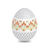 Drawn Painted Easter Eggs Royalty Free Stock Image
