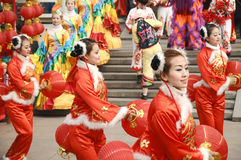 To celebrate the Spring Festival in China royalty free stock photography