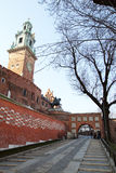 To cracow castle Royalty Free Stock Photography