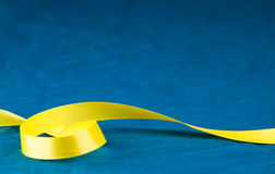 To Curl a Yellow Ribbon Stock Photography