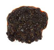 tło cuttlefish ink biel Obrazy Stock