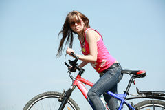 To cycle Royalty Free Stock Images