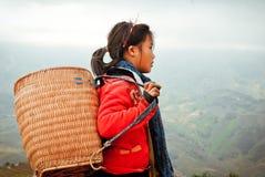 24to de diciembre de 2012, pueblo de Sapa, Vietnam Foto de archivo