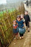 24to de diciembre de 2012, pueblo de Sapa, Vietnam Imagen de archivo