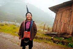 24to de diciembre de 2012, pueblo de Sapa, Vietnam Fotos de archivo
