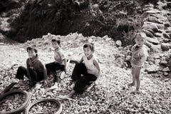 24to de diciembre de 2012, pueblo de Sapa, Vietnam Imagenes de archivo