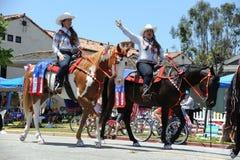4to del Huntington Beach CA LOS E.E.U.U. del desfile de julio Imagen de archivo