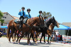 4to del Huntington Beach CA LOS E.E.U.U. del desfile de julio Fotos de archivo