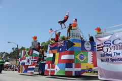 4to del Huntington Beach CA LOS E.E.U.U. del desfile de julio Imagenes de archivo