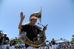 4to del Huntington Beach CA LOS E.E.U.U. del desfile de julio Fotos de archivo libres de regalías