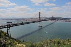 25to del puente de abril Imagen de archivo