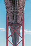 25to del puente de abril en Lisboa Fotos de archivo libres de regalías