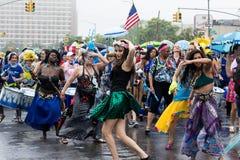 35to desfile anual Coney Island NY de la sirena Fotografía de archivo libre de regalías