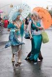 35to desfile anual Coney Island NY de la sirena Imagen de archivo