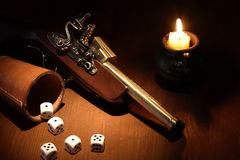 To Dice With Death Royalty Free Stock Photo