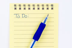 To Do List Royalty Free Stock Photos