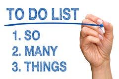 Free To Do List Royalty Free Stock Photo - 50528045