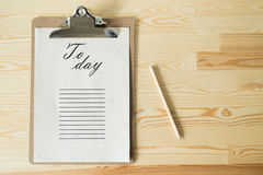 To do list Stock Photography
