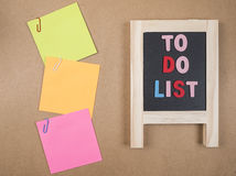 To do list 1 Royalty Free Stock Photo