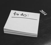 To do list Royalty Free Stock Images