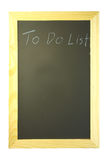 To do list on blackboard Stock Images