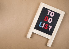 To do list 2 Royalty Free Stock Photo