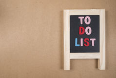 To do list 3 Stock Photo