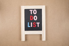 To do list 4 Royalty Free Stock Photography