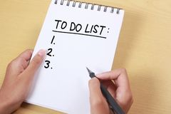To Do List, Business Schedule Motivational Words Quotes Concept. To do list, business schedule motivational inspirational quotes, words typography top view royalty free stock images
