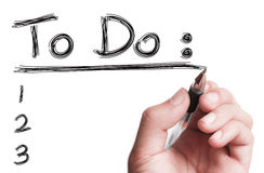 To Do List Royalty Free Stock Photo