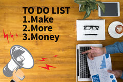 TO DO LIST  - Make More Money Stock Photography