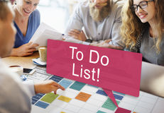 To Do List Memo Task Reminder Ideas Note Concept stock photos