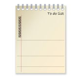 To-do list Royalty Free Stock Image