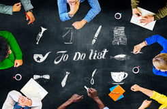 To Do List Resolution Aspiration Organization Management Concept Royalty Free Stock Photo