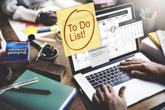 To Do List Schedule Calender Planner Organization Concept Royalty Free Stock Image