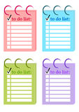 To do List. To do Shopping List paper vector illustration vector illustration